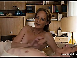 Heavenly Helen Hunt has a shaved puss for viewing
