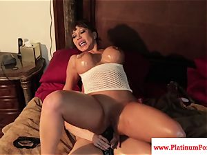 wondrous Brandi May and Ava Devine play with playthings