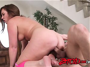 Maddy O'Reilly spread and humped