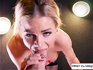 observe Jessa Rhodes taking a ample trunk down her mouth