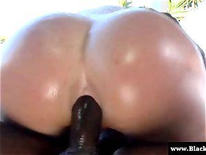 pornstar Krissy Lynn butt torn up rock-hard and she squeals